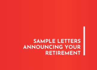Sample Letters Announcing your Retirement