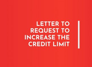 Letter to Increase Credit Limit