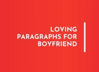 Loving Paragraphs for Boyfriend