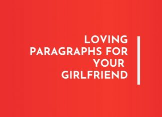 Paragraphs for your Girlfriend