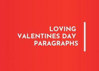 Valentines day Paragraphs