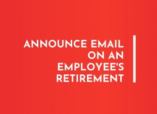 Employee Retirement Announcement Letters