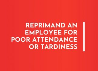 Letters to Reprimand an Employee