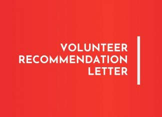 olunteer recommendation letters