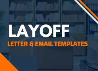 Letter Or Email for Layoff