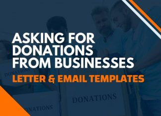Asking for Donations from Businesses Letters & Emails